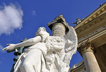 Detail der Karlskirche, Wien