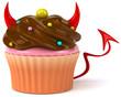 Cupcake diabolique