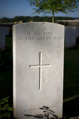 Grave of a soldier from WWI