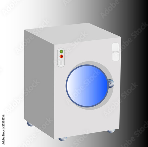 Washing machine, vector