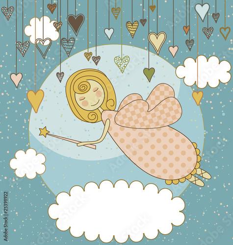 Sweet Fairy Card - 25398922