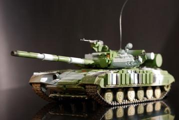 scale model tank