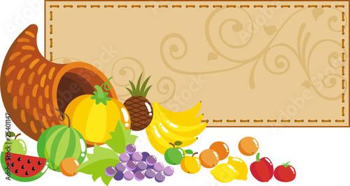 harvest fruits and vegetables