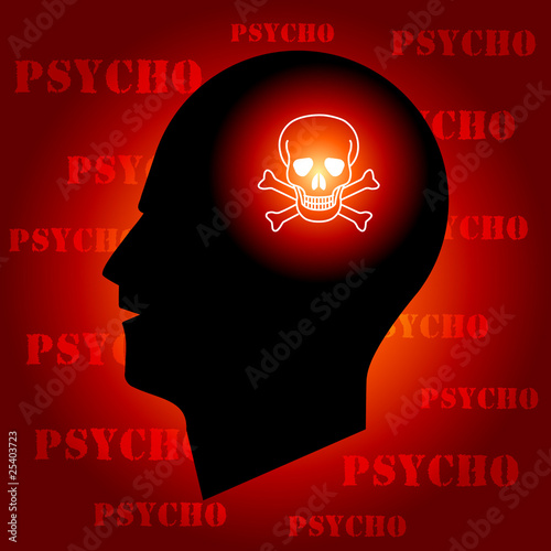 Skull Sign in Human Head