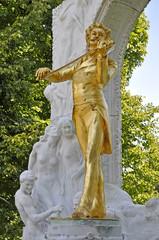 Johann Strauss (Sohn) Denkmal, Wien