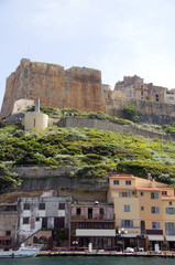 the citadel fortress medieval architecture bonifacio corsica