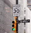 obraz - Wall Street road s...