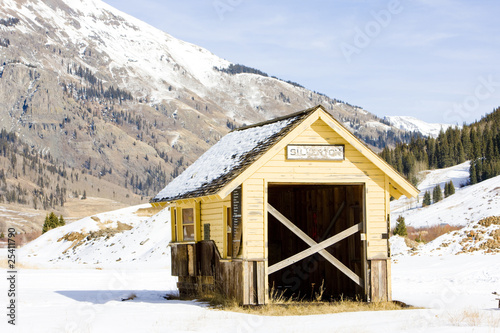 depot, Silverton, Colorado, USA