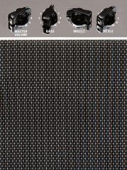 Guitar amplifier background