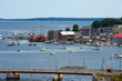 Coastal town of Belfast, Maine
