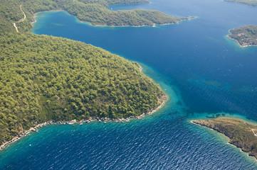 Aerial view of Gokova  Turkey