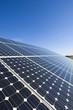 Leinwanddruck Bild - Photovoltaic board