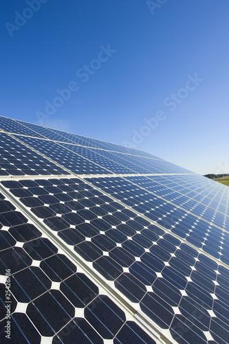 Leinwanddruck Bild Photovoltaic board