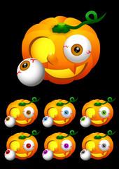Halloween 001 - Jack-o'-lantern (Pumpkin) 1