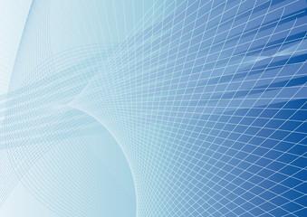 sfondo astratto con curve blu