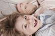 Deutschland, Junge und Mädchen Lächeln, Portrait, close-up