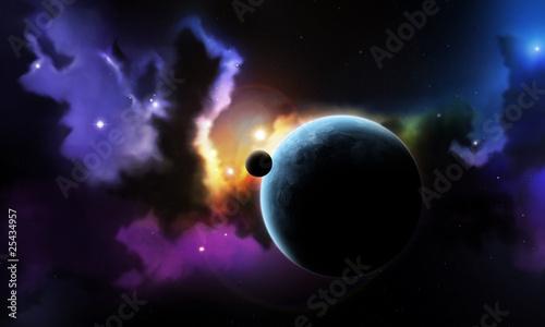 mglawica-przestrzeni-fantasy-i-planety-z-satelity