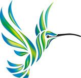 Fototapety Humming-bird vector