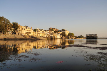 Udaipur Ghats at Sunset