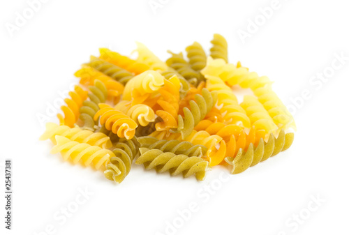 pasta isolated