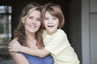 Deutschland, Porträt von Mutter und Sohn, close-up