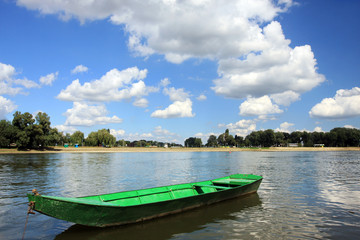 barca sul fiume Drava, a Osijek