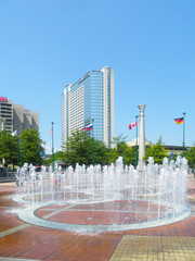 Rings Fountains of Olympic Park,  Atlanta