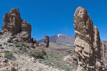 Las Canadas valley, Tenerife Island