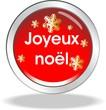 bouton joyeux noel
