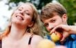 Ernte - Äpfel essen