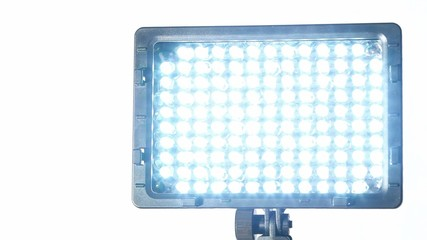 Searchlight, which consists of bright blue Light-emitting diodes