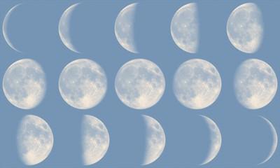 Mond Phasen - Tag