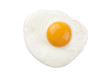 fried egg isolated - 25460936