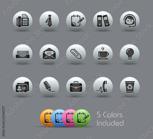 Office & Business / The vector file includes 5 colors