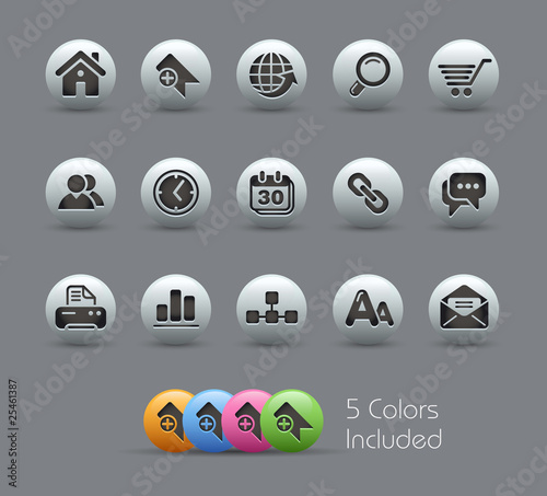Website / The vector file includes 5 colors