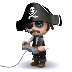 Pirated videogame
