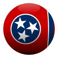 boule tennessee ball drapeau flag