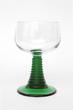 Leinwanddruck Bild - Weinglas Isoliert