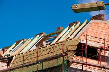 Rohbau Dach