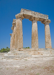 Temple of Apollo at Corinth