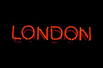 London neon sign