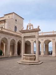 The Abbey of Montecassino, Italy