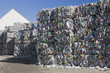 Leinwanddruck Bild - Plastic recycling