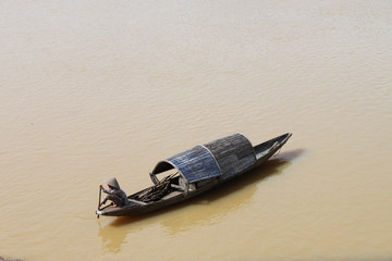 boat in Song Houng river