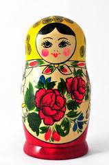 handgefertigte russische Puppe