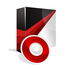 Box and DVD red