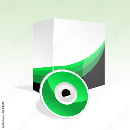 Box and DVD green