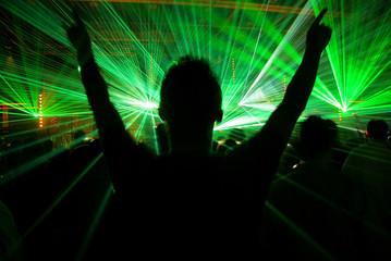 Silhouette vs. Lasershow