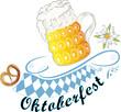 Oktoberfest, Ranke, Bier, Bierglas, Bayern, beer