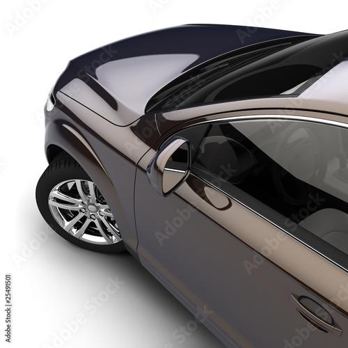 samochod-z-ciemna-farba-dwukolorowa-w-studio